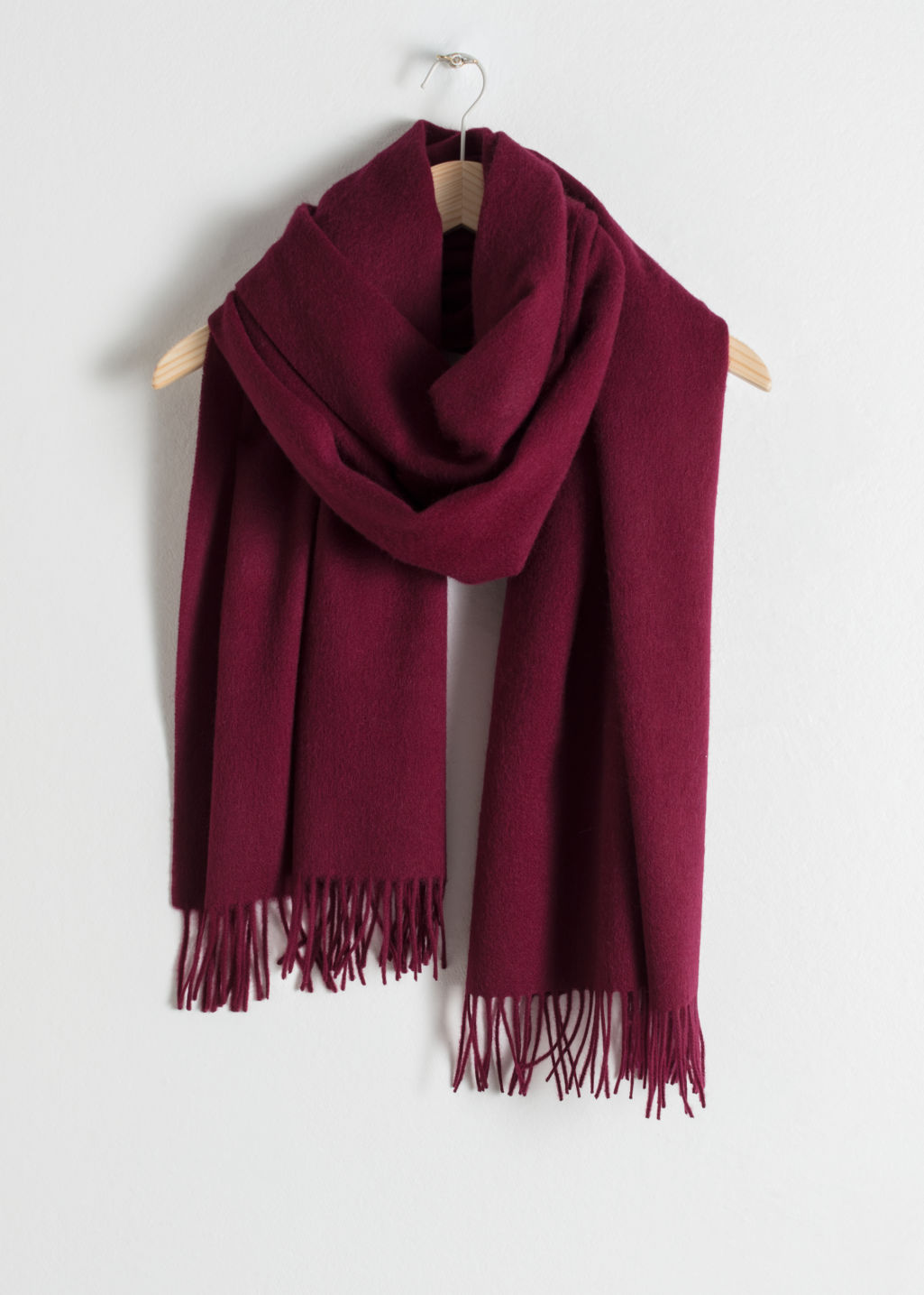 Oversized Wool Scarf Burgundy Fall Amp Winterscarves