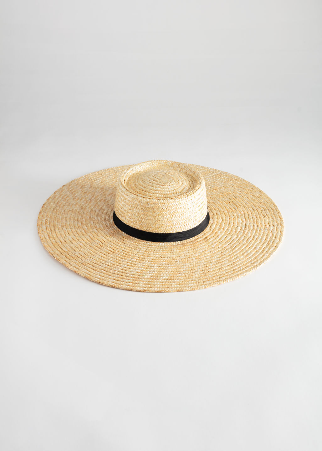 2d9964fc Raw Edge Straw Hat - Beige - Hats - & Other Stories