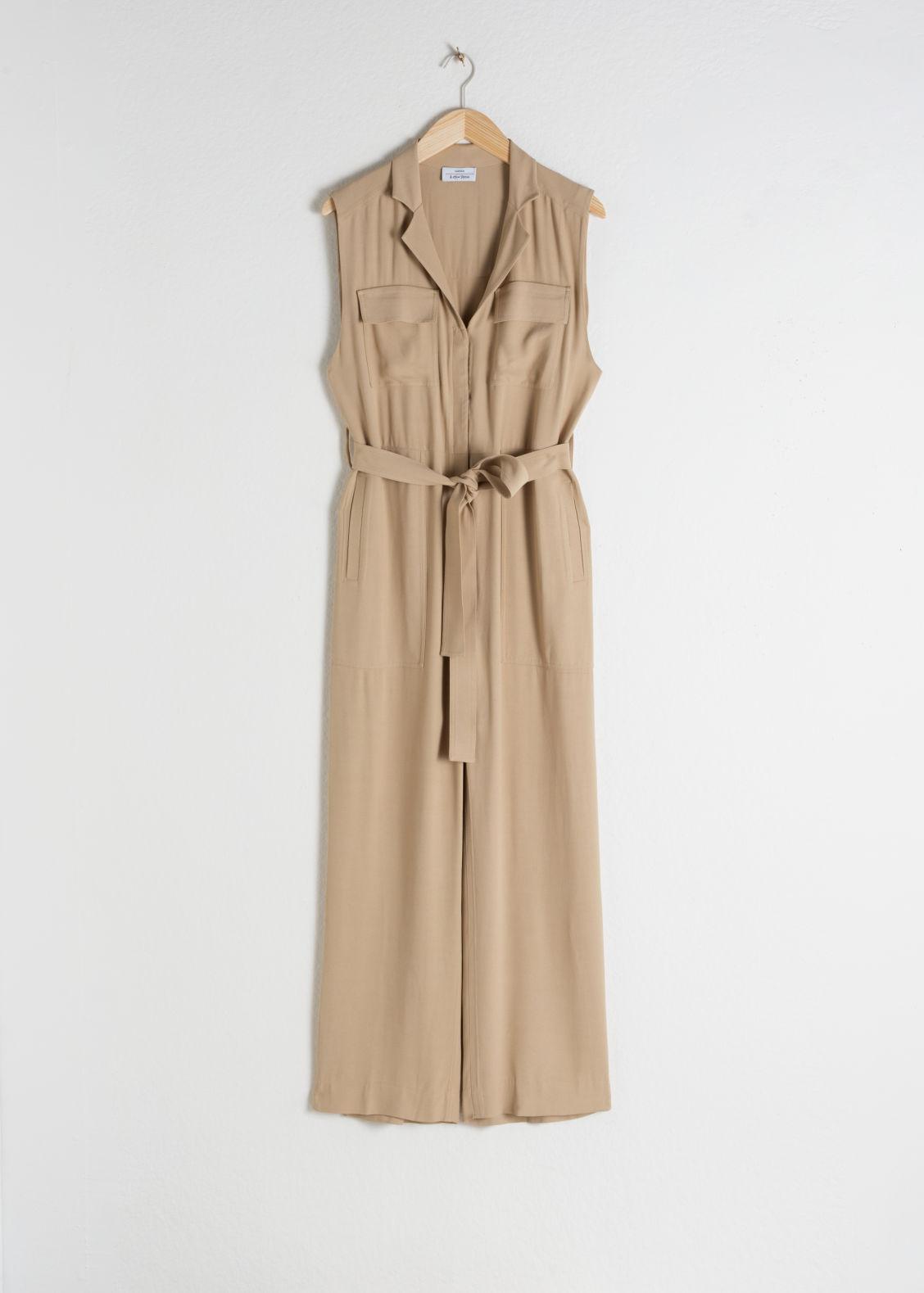 c018b5e9d10e ... Dress Midi dresses - clothing_dresses_mididresses € 99 € 99 Pink  CAPSULE COLLECTION. Belted Sleeveless Jumpsuit