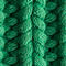 Fabric Swatch image of Stories rib knit beanie in green