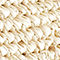 Fabric Swatch image of Stories embellished woven tote in beige