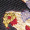Fabric Swatch image of Stories tropical bird jacquard slip ons in black