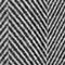 Fabric Swatch image of Stories herringbone wool blend coat in black