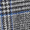 Fabric swatch No Angle Image of Stories Wool Blend Plaid Blazer in Grey