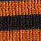 Fabric Swatch image of Stories striped merino wool beanie in orange