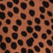Fabric Swatch image of Stories ruffle wrap maxi skirt in orange