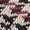 Fabric Swatch image of Stories houndstooth slingback kitten heels in brown