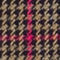 Fabric Swatch image of Stories hourglass houndstooth blazer in beige