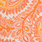 Fabric Swatch image of Stories  in orange