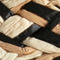 Fabric Swatch image of Stories  in black