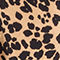Fabric Swatch image of Stories satin leopard slip dress in beige