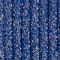 Fabric Swatch image of Stories glitter rib knit ankle socks in blue