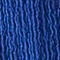 Fabric Swatch image of Stories puff sleeve ribbed mini wrap dress in blue