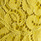 Fabric Swatch image of Stories relaxed floral lace shirt in yellow