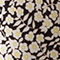 Fabric Swatch image of Stories floral relaxed drop shoulder shirt in black