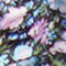 Fabric swatch No Angle Image of Stories Square Neck Floral Midi Dress in Blue
