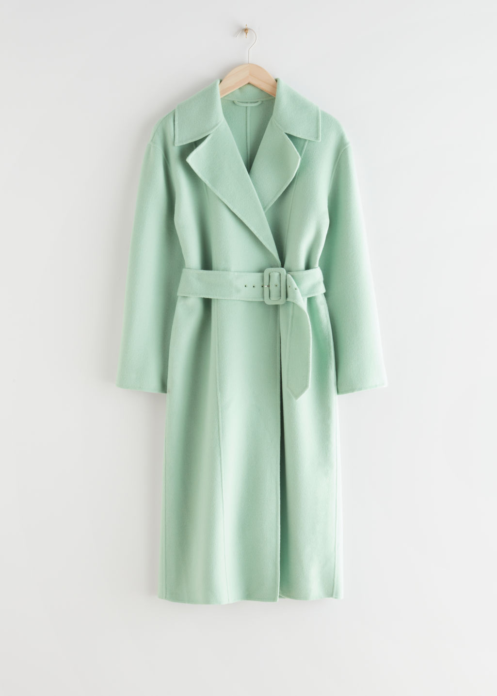 Relaxed Belted Coat & other stories sale