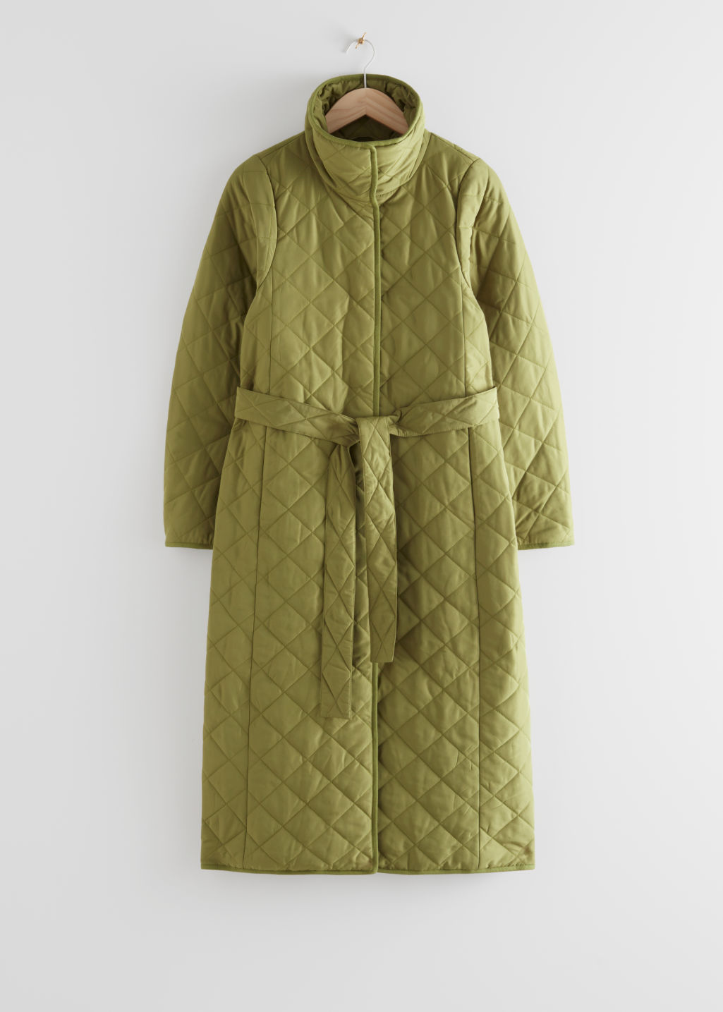 Belted Quilted Coat & Other Stories