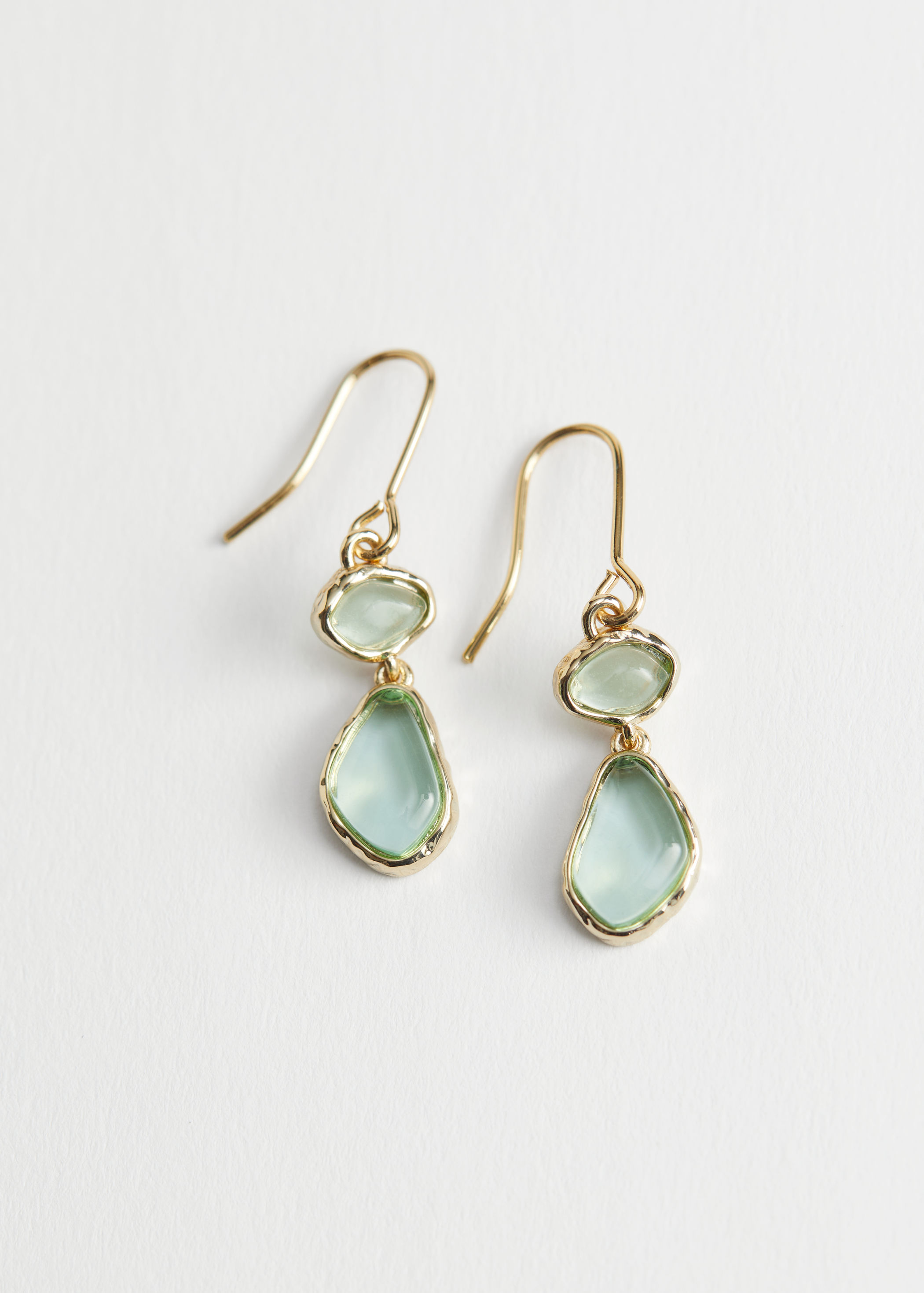 Mini stone pendant earrings - And other Stories