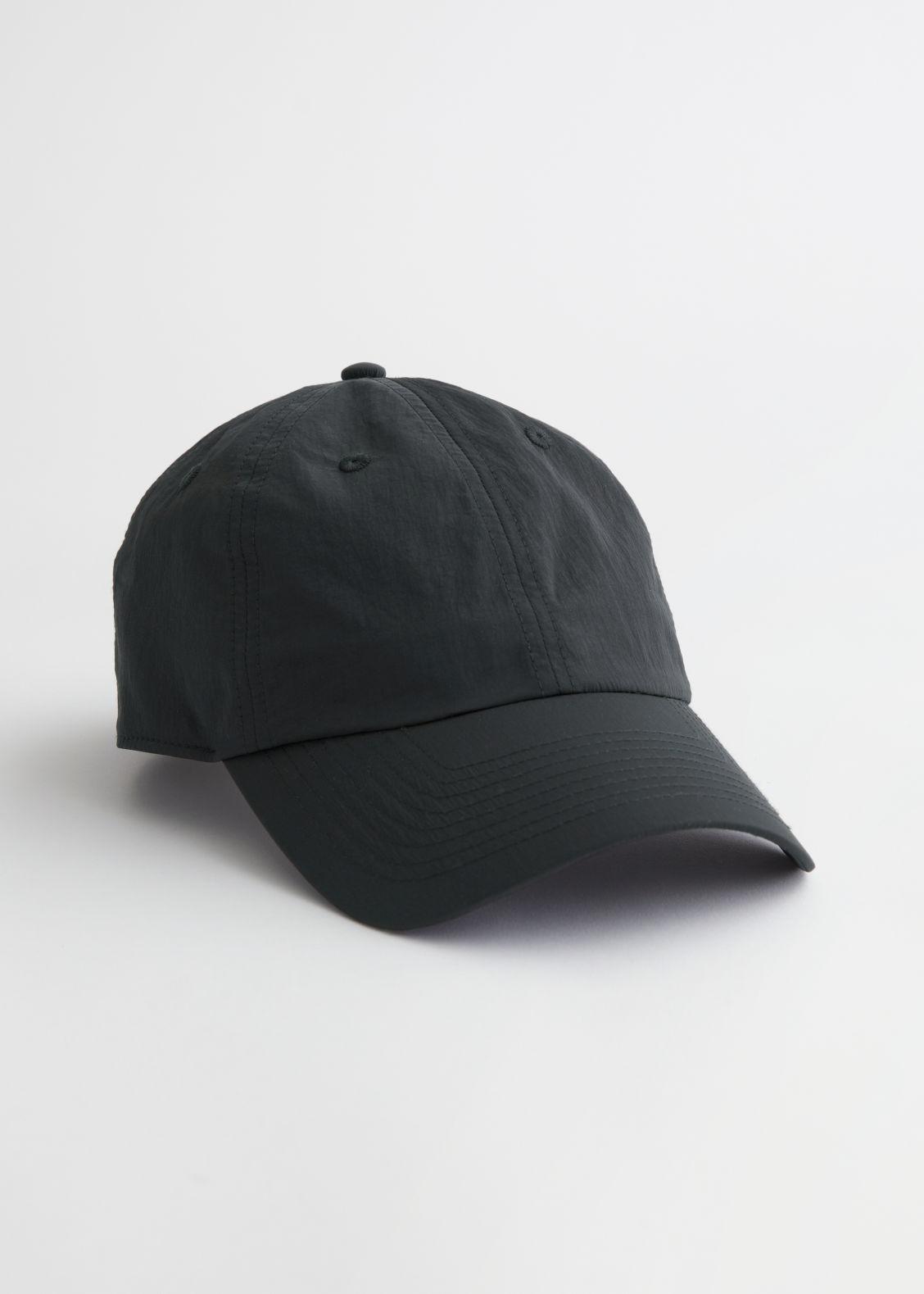 앤 아더 스토리즈 볼캡 & OTHER STORIES Technical Nylon Baseball Cap,Black