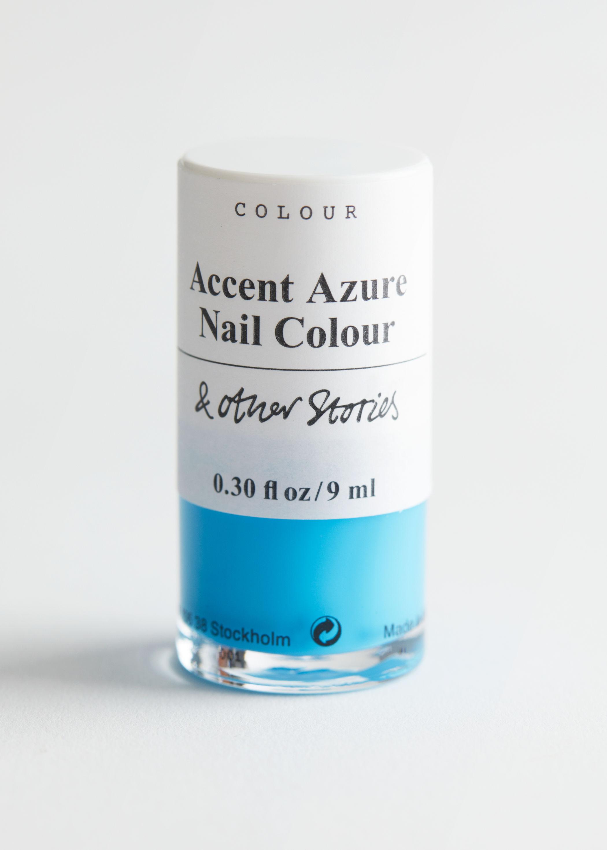 앤 아더 스토리즈 '악센트 아주어' 네일 폴리시 매니큐어 (9ml) & OTHER STORIES Accent Azure Nail Polish