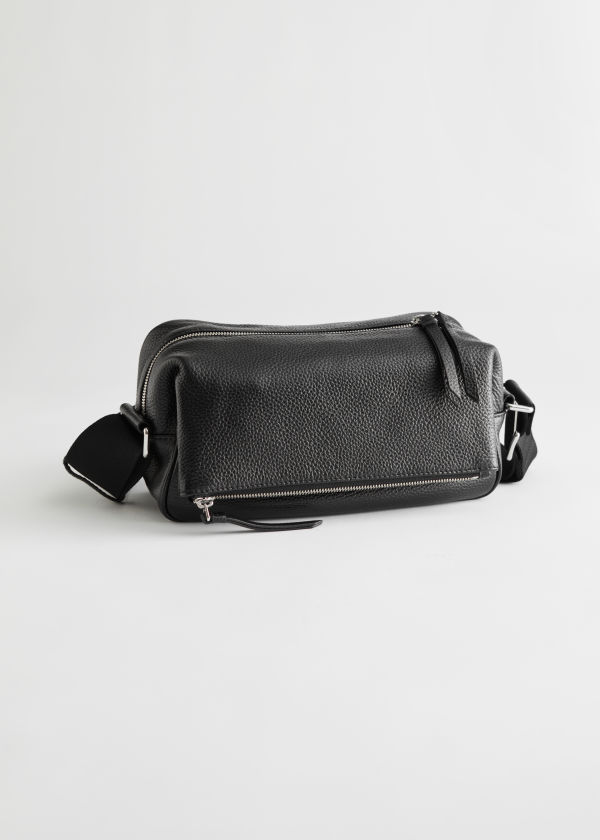 Slouchy Leather Crossbody Bag