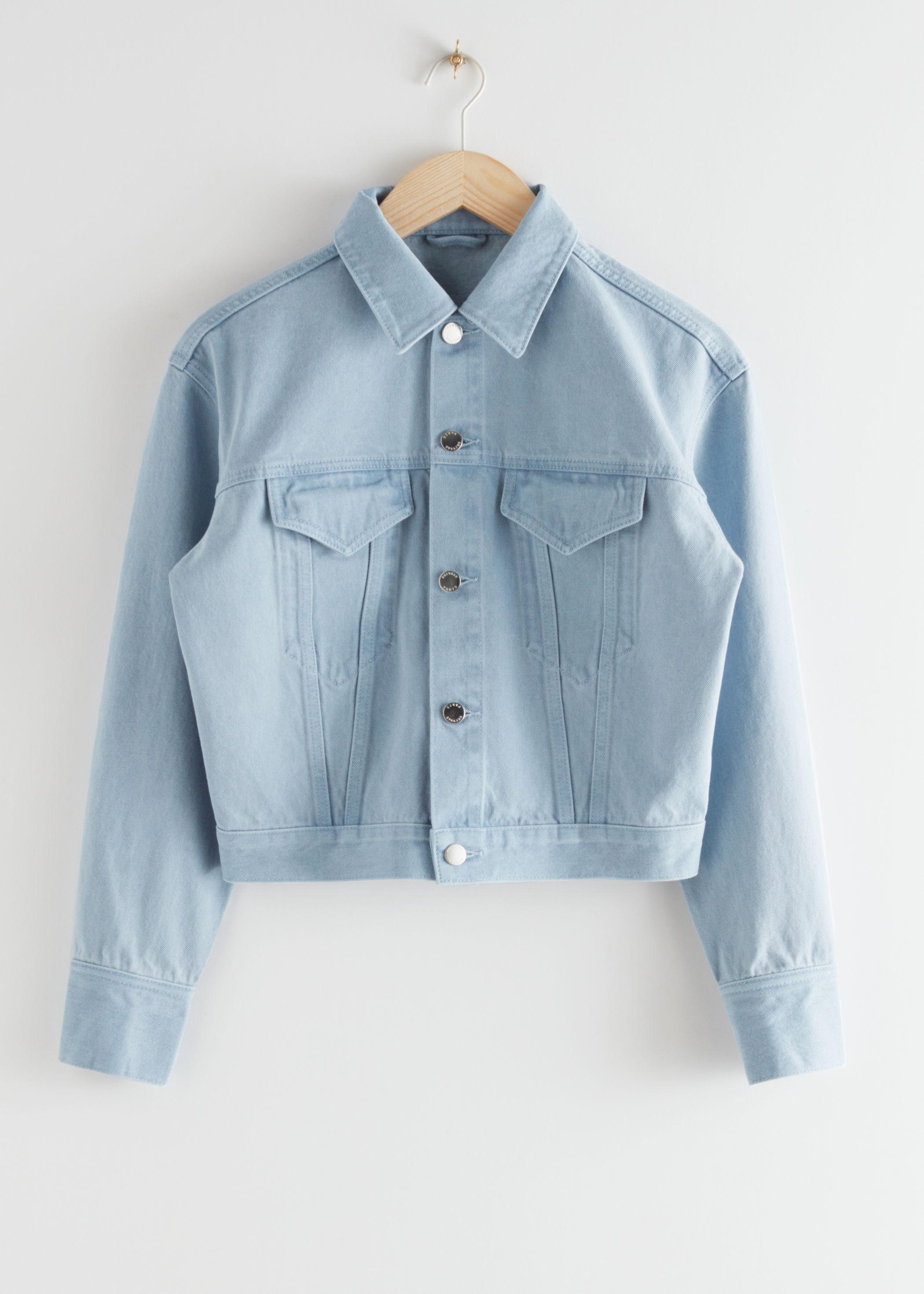 앤 아더 스토리즈 & OTHER STORIES Classic Denim Jacket,Light Blue