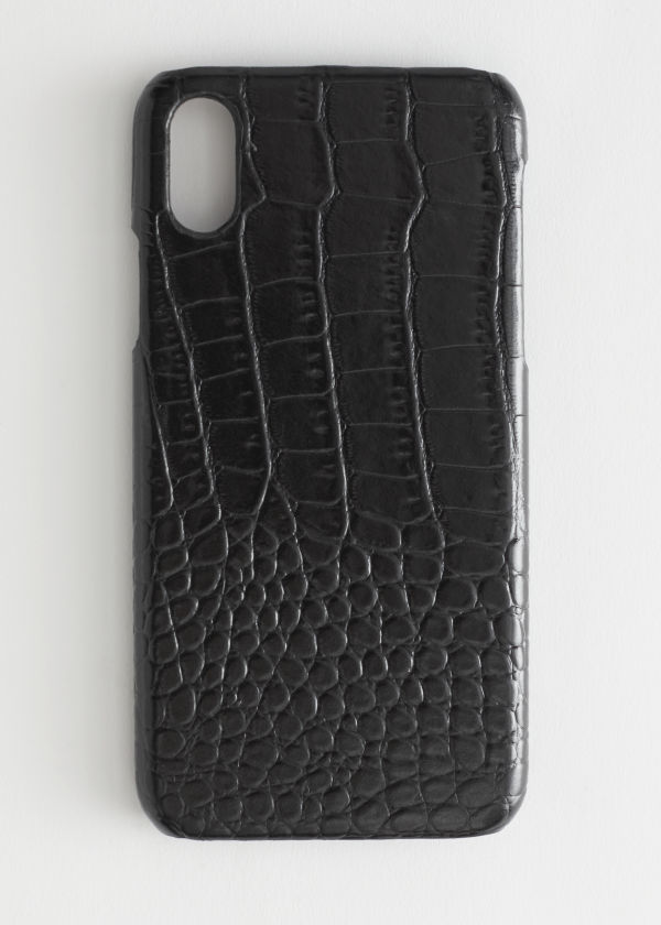 Croc Embossed iPhone Case