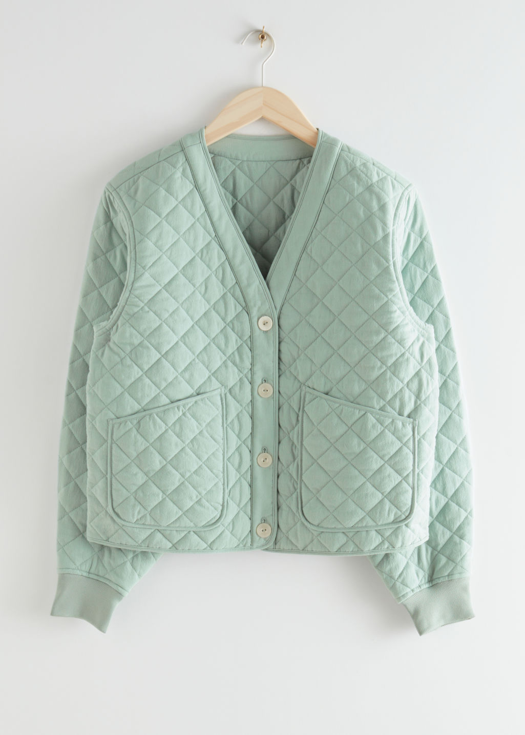 Boxy Quilted Jacket & Other Stories