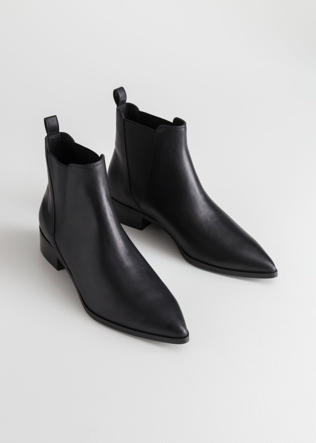StillLife Top Image of Stories Chelsea Boots in Black