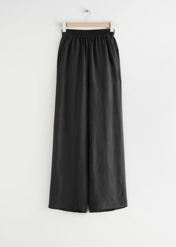 Relaxed Drawstring Trousers