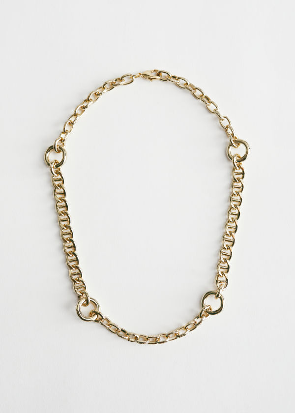Chunky Chain Fitted Necklace