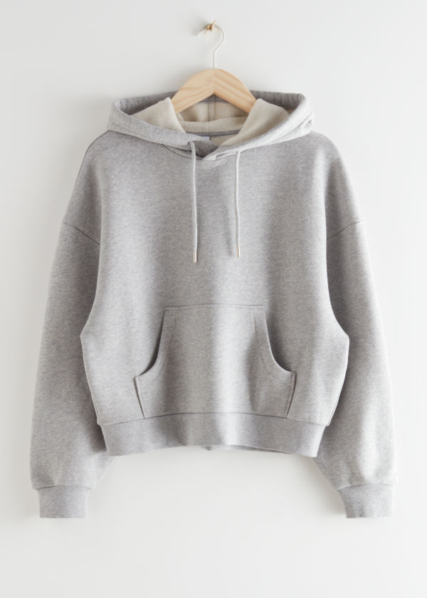 Oversized Boxy Hooded Sweatshirt