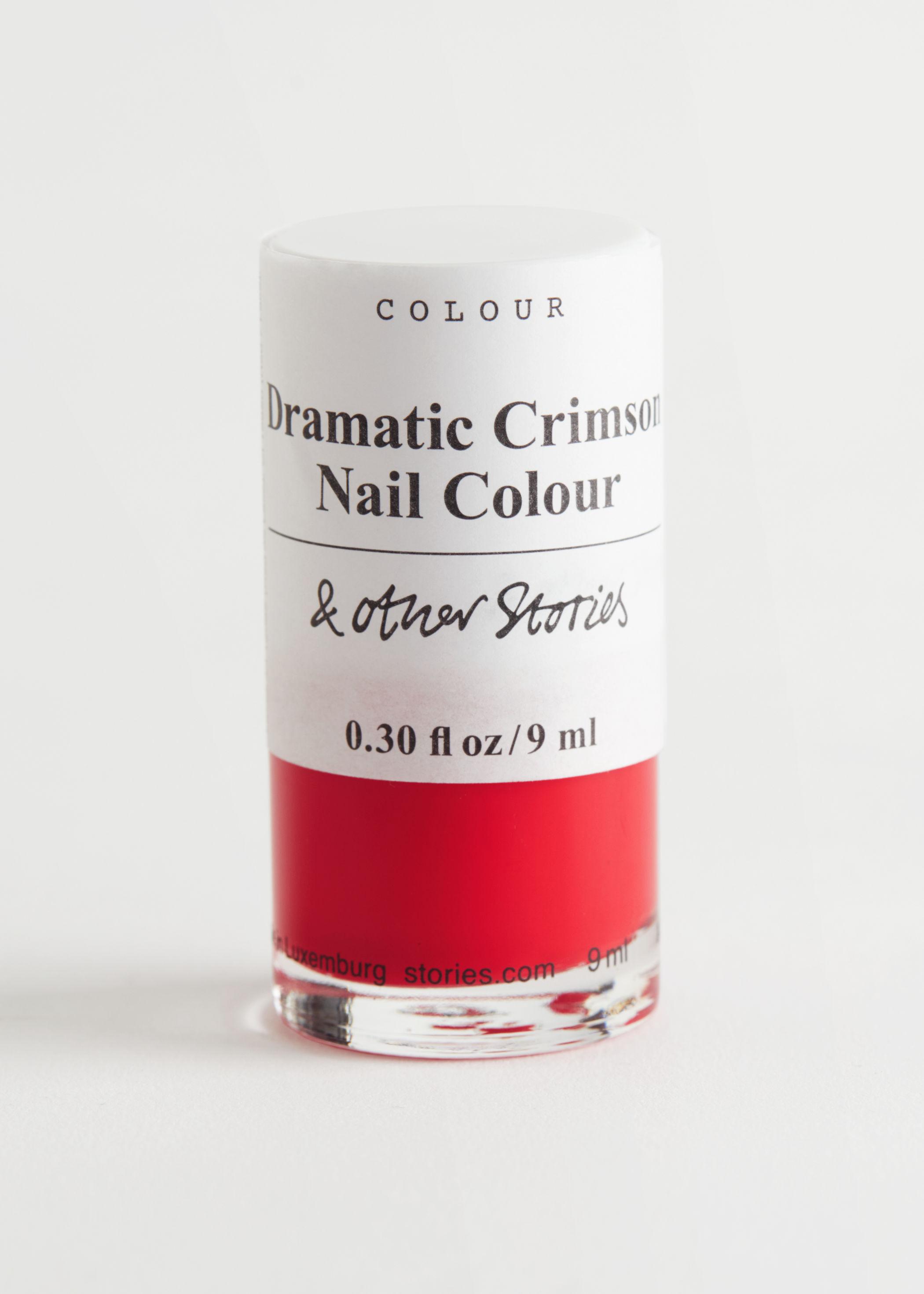 앤 아더 스토리즈 네일 폴리시 매니큐어 & OTHER STORIES Dramatic Crimson Nail Polish