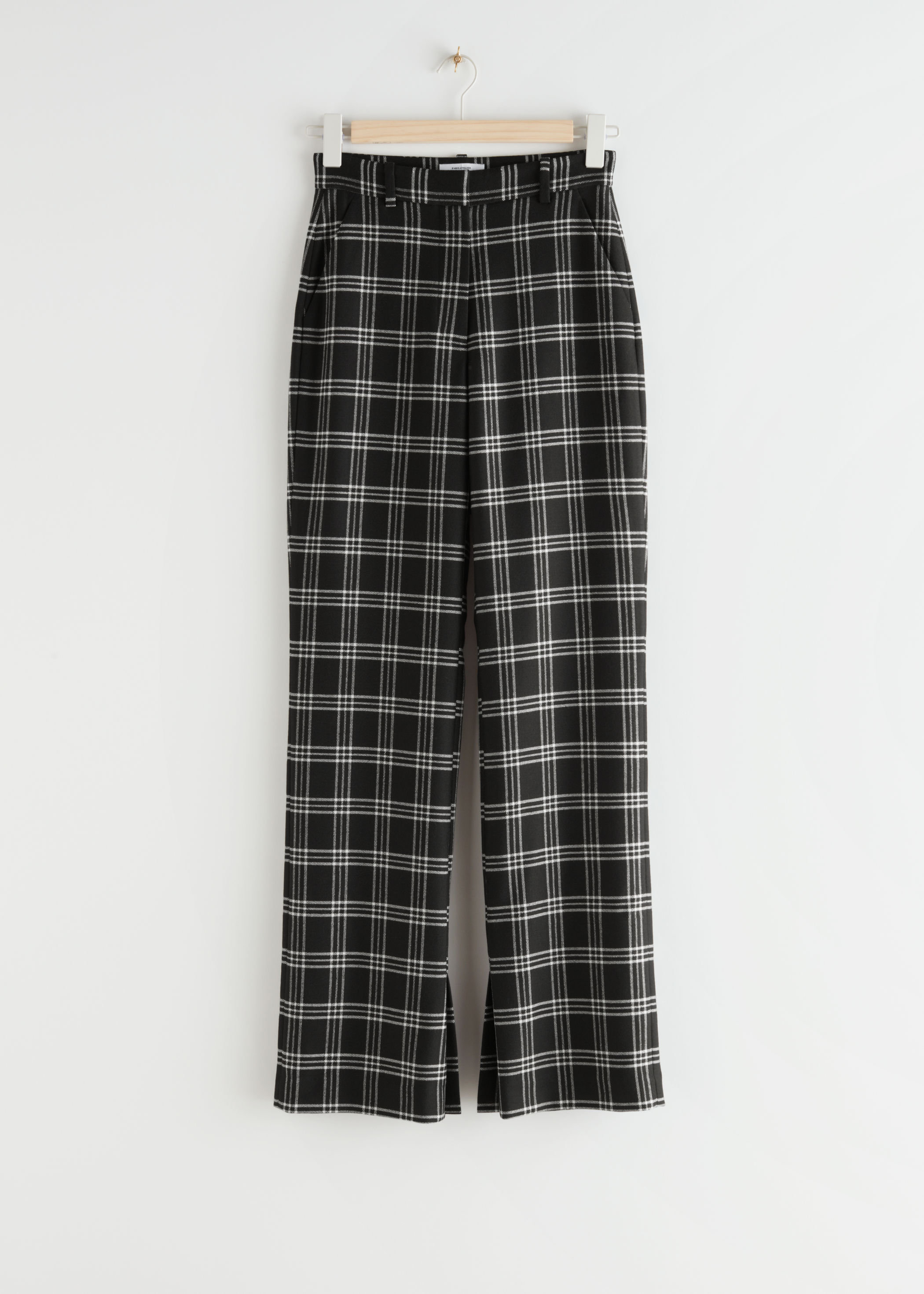Flared High Waist Trousers, £85, & Other Stories