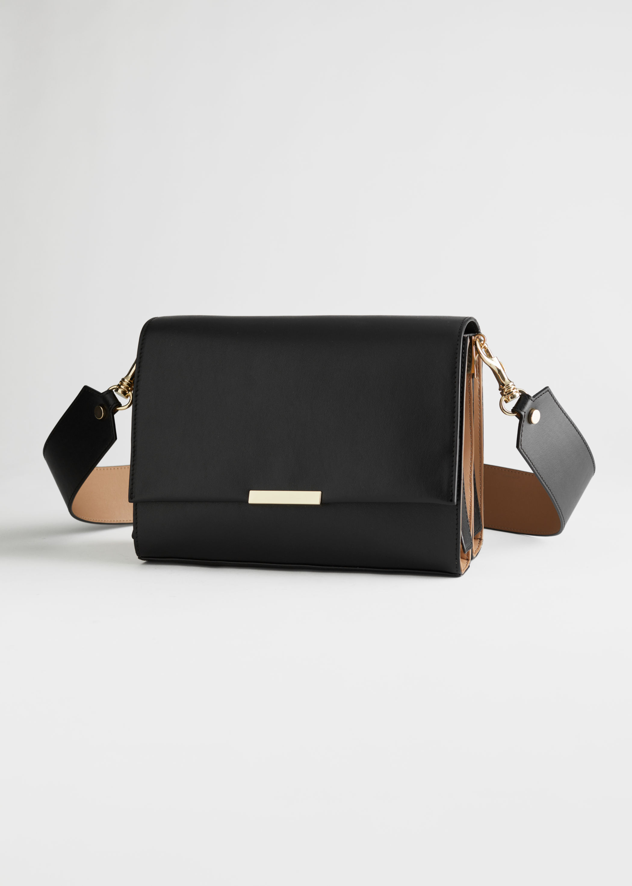 Duo Tone Leather Crossbody Bag Rejina Pyo x & Other Stories