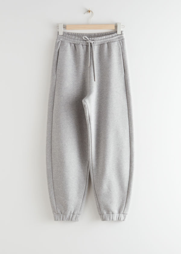 Oversized Organic Cotton Jogger Trousers
