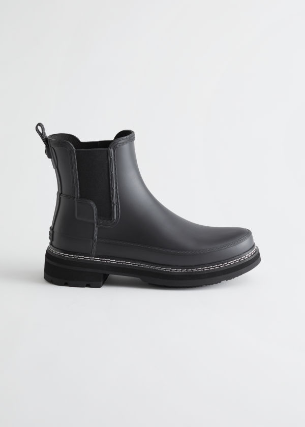Hunter Refined Stitch Chelsea Boots