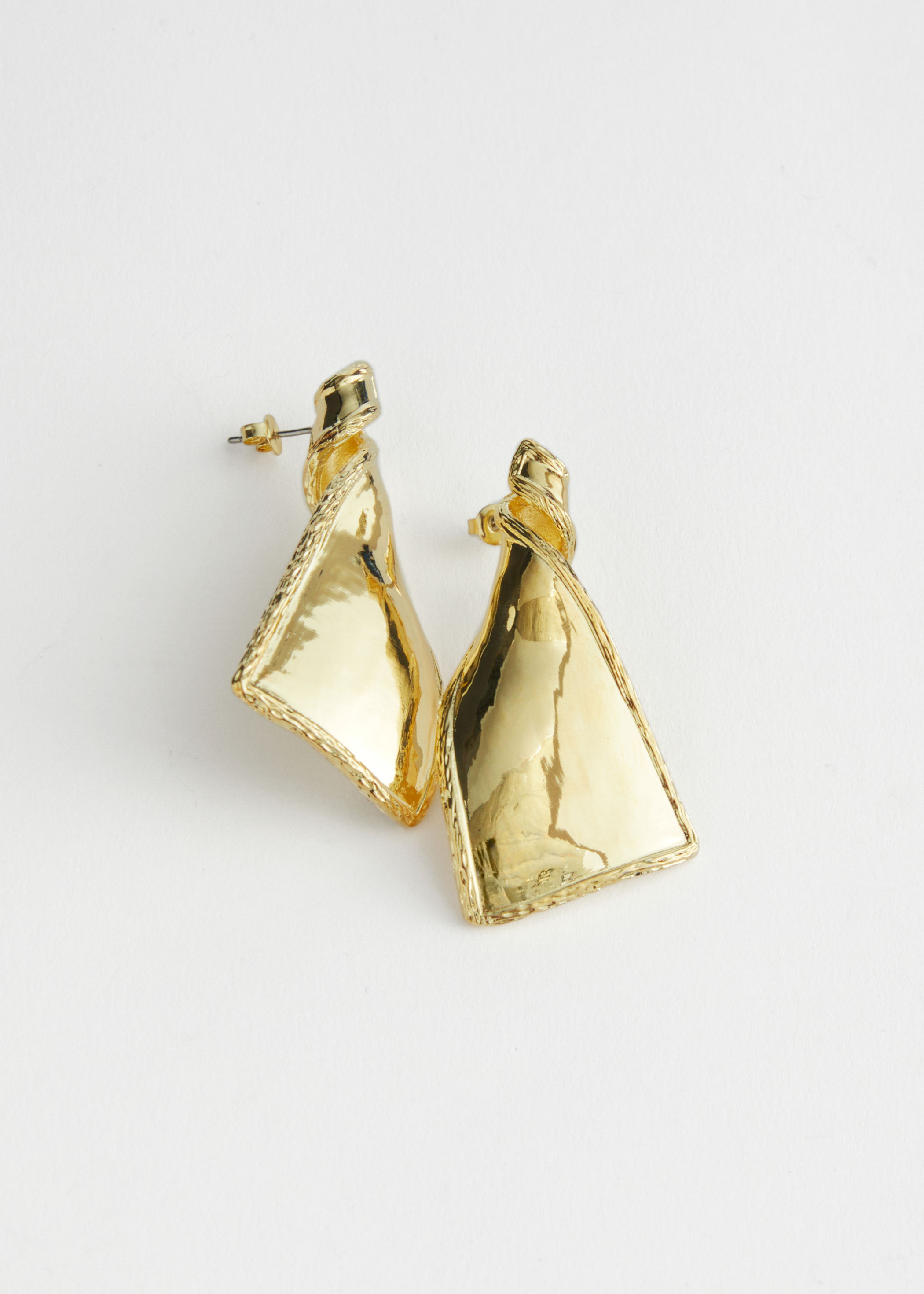 and other stories Twisted Pendant Earrings