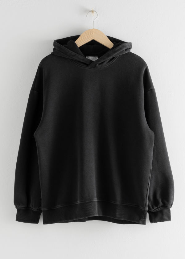 Oversized Hooded Boxy Sweatshirt