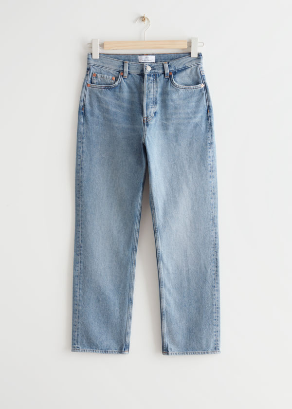 Keeper Cut Cropped Jeans