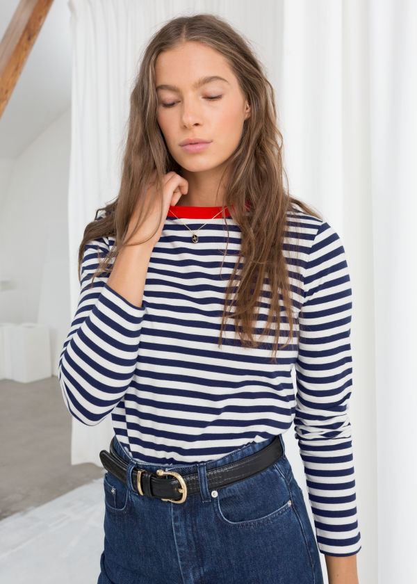 Striped Long Sleeve Tee