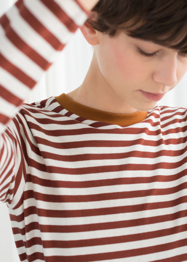Striped Long Sleeve Tee ... d390aab1e0