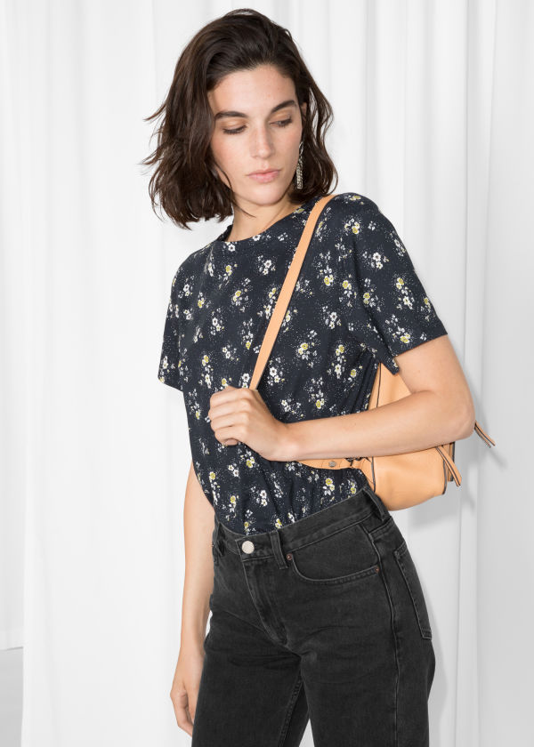 Floral Cotton Top