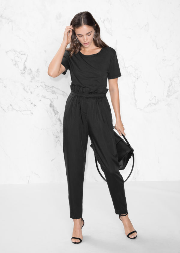 Paperbag Waist Trousers