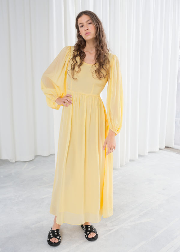 Billowy Prairie Maxi Dress