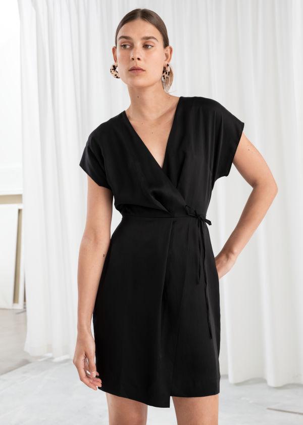 086a302e75 Sleeveless Wrap Dress Sleeveless ...