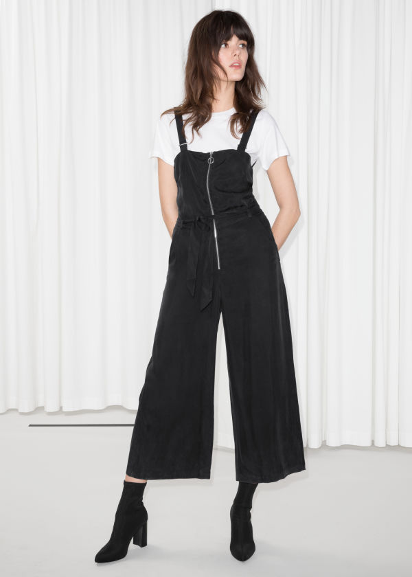 Front Zip Jumpsuit