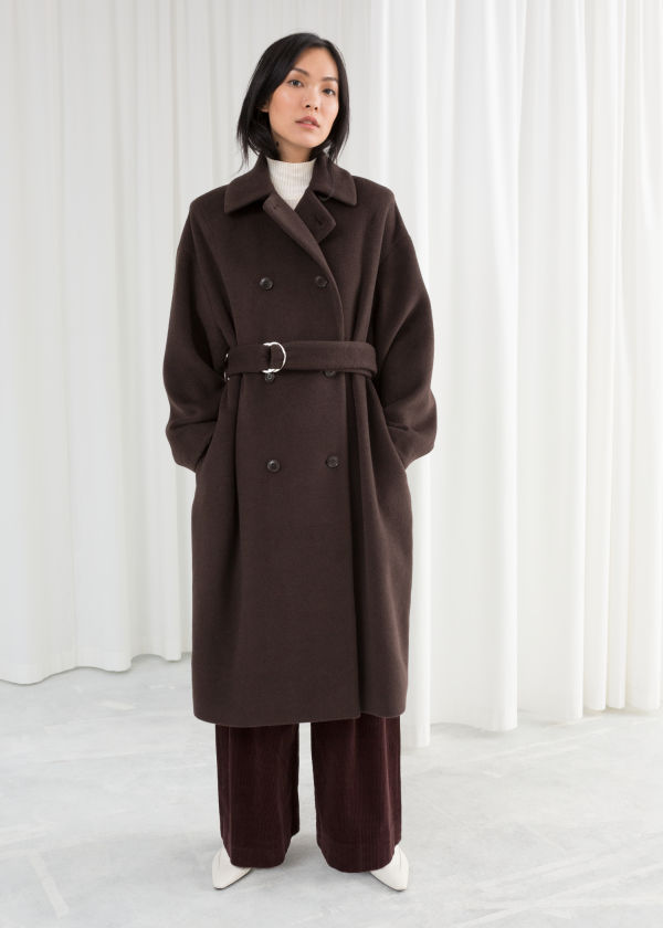 Duo D-Ring Belted Coat