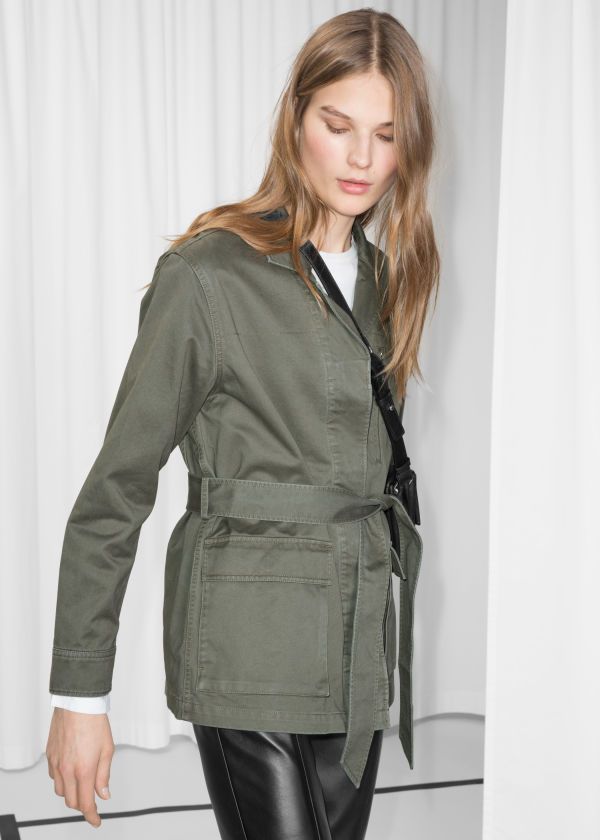 Belted Army Jacket